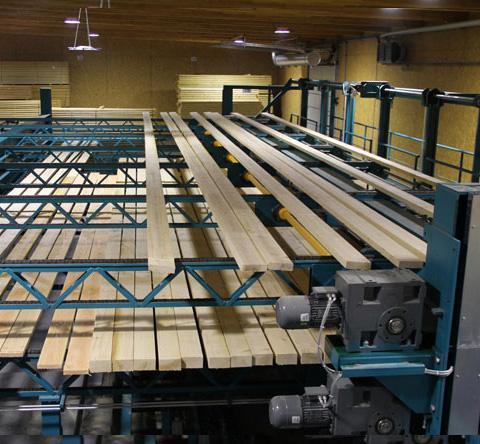 Scierie DUBOT & FILS - Unité de traitement bois massifs
